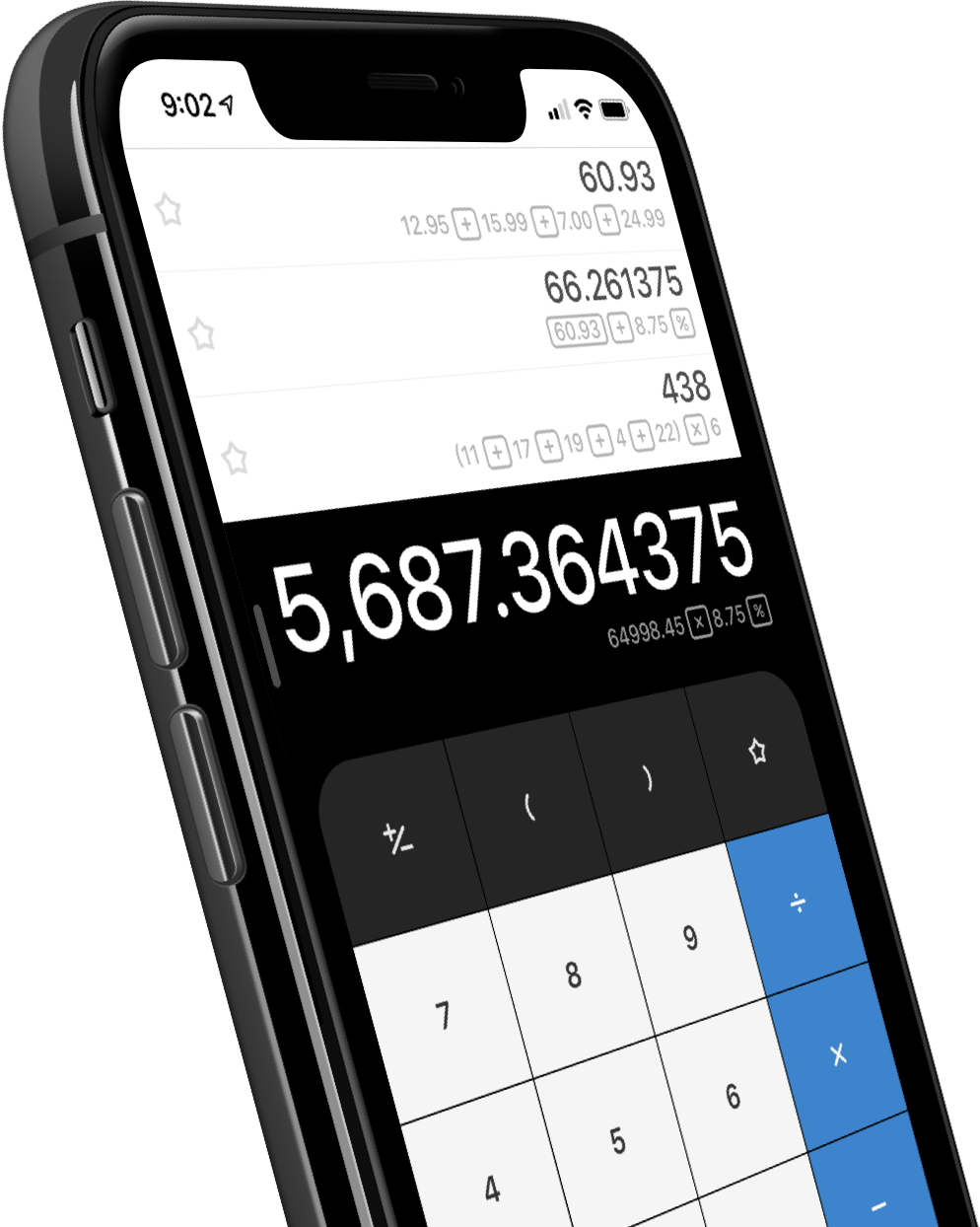 Calcbot for iOS